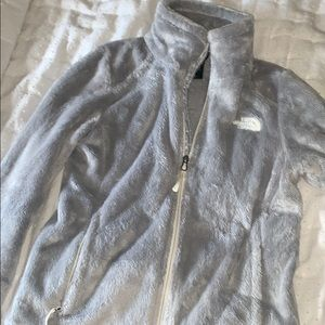 Women's XS gray north face